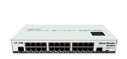 MikroTik CRS125 24G-1S-IN