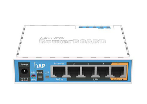 MikroTik hAP (RB951Ui-2nD)