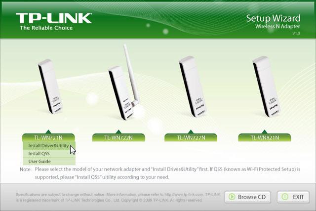 tp link tl-wn721n драйвер windows xp