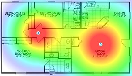 Расширение Wi-Fi покрытия с помощью точек доступа