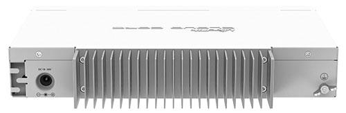 MikroTik CCR1009-7G-1C-PC - вид сзади