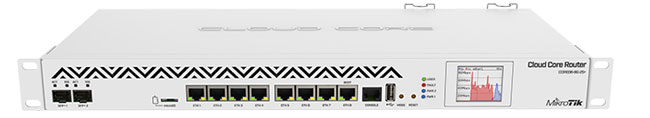 Порты MikroTik CCR1036-8G-2S+EM