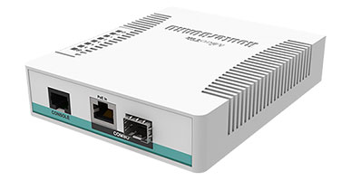 Combo порт MikroTik CRS106-1C-5S