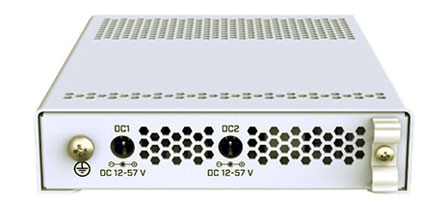 Разъемы питания MikroTik CRS305-1G-4S+IN