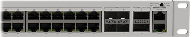 Порты MikroTik CRS354-48G-4S+2Q+
