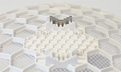 Металлическая пластина для регулировки угла наклона антенны