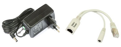 Блок питания и POE инжектор MikroTik QRT-2