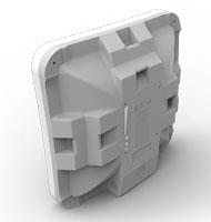MikroTik SXTsq Lite5 - крепления на трубу сзади корпуса