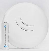 Wi-Fi точка маленького размера MikroTik cAP lite