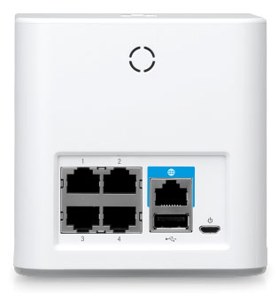 Порты Wi-Fi роутера Ubiquiti AmpliFi