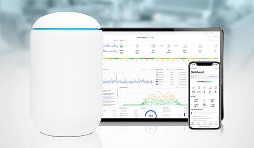 Управление Ubiquiti UniFi Dream Machine через приложение и Web-интерфейс