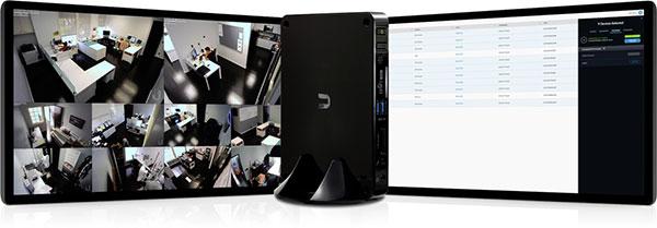 Интерфейс системы видеонаблюдения UniFi Video