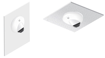 Монтаж IP-камеры Ubiquiti UniFi Video Camera G3 Dome на стену и потолок