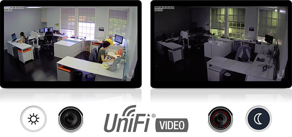 UniFi Video Camera PRO - Ночной режим