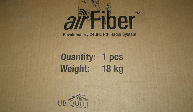 Коробка Ubiquiti AirFiber