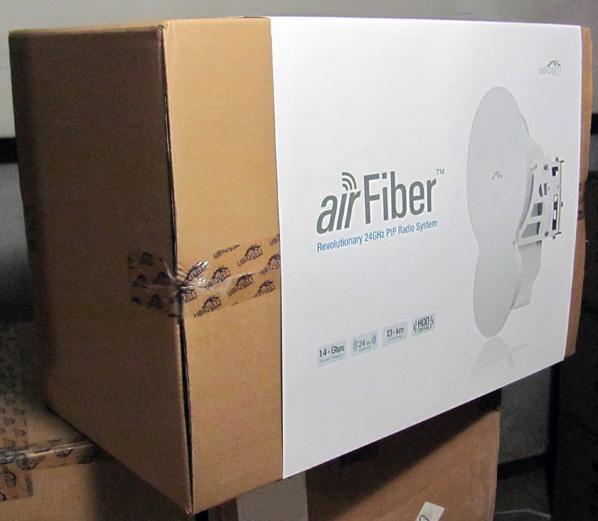 Упаковка Ubiquiti AirFiber