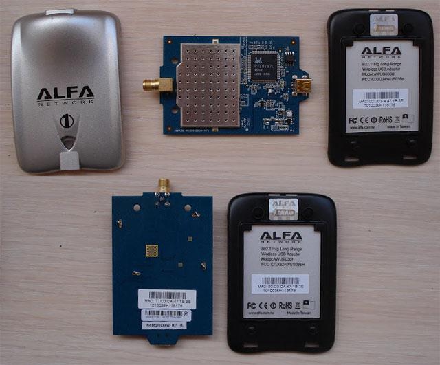 Оригинальный адаптер Alfa Network AWUS036H