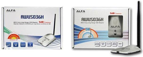 Оригинальная упаковка Alfa Network