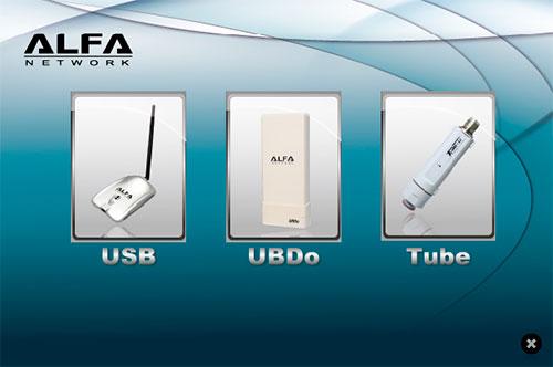 Установка драйвера Alfa Tube-U (G)