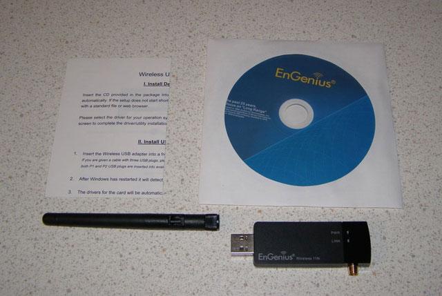 Комплектация EnGenius EUB9603 EXT.