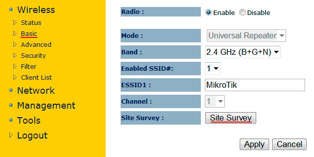 Настройка Wi-Fi репитера Engenius EAP150