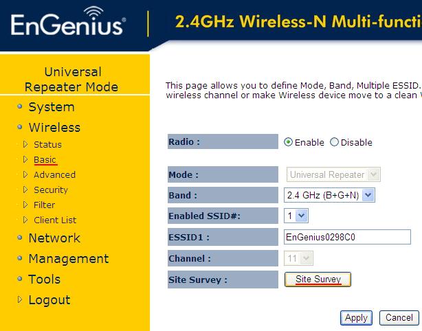 Поиск Wi-Fi сетей