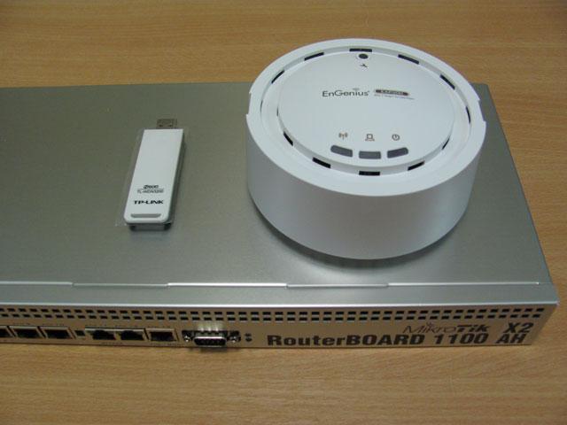 Тестирование скорости EnGenius EAP300