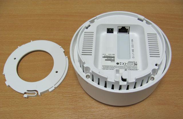 EnGenius EAP350 - сетевой порт и порт питания