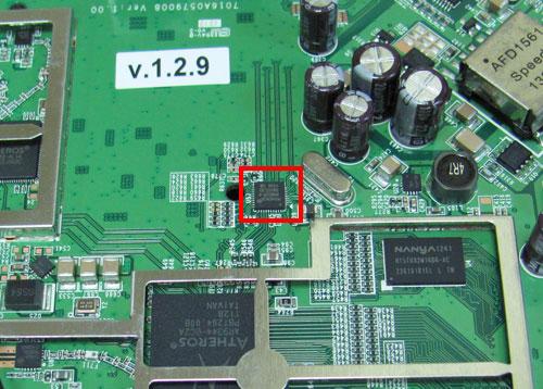 Микросхема сетевого порта