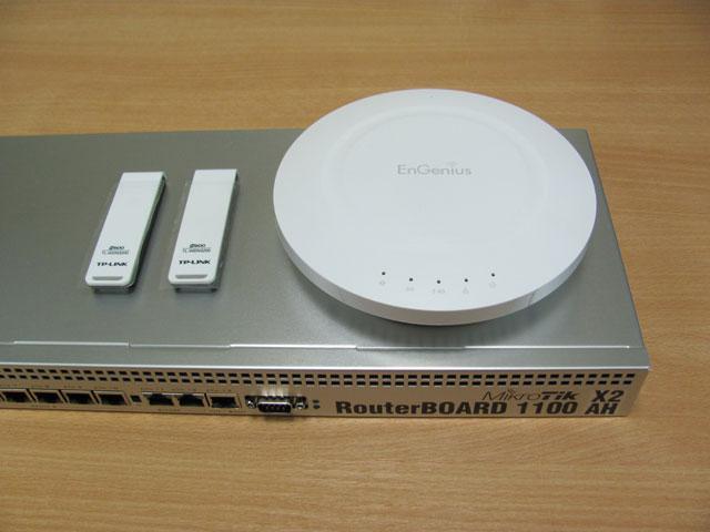 Оборудование для теста EnGenius EAP600