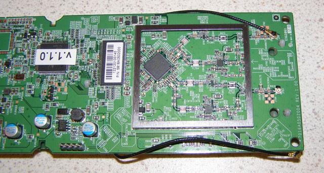 Подключение антенны к плате EnGenius ENH202