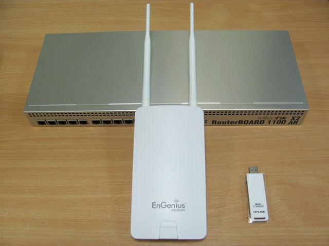 Оборудование для теста EnGenius ENS202EXT