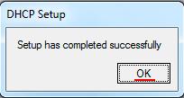 Настройка dhcp сервера микротик завершена