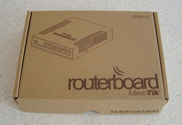 Коробка Mikrotik RB951G-2HnD