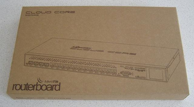Коробка MikroTik CCR1036 12G-4S