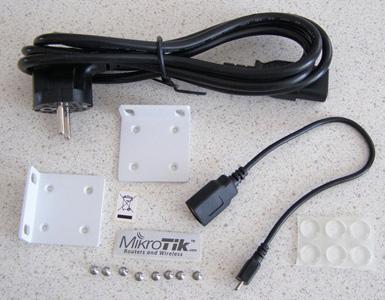 Перечень комплектующих MikroTik CCR1036 12G-4S