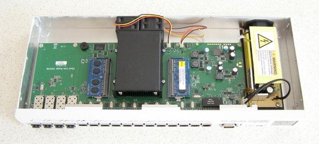 Разбираем MikroTik CCR1036 12G-4S