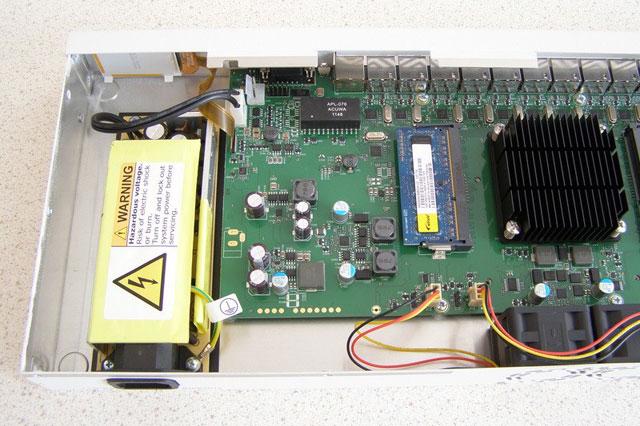 Дополнительные разъемы MikroTik CCR1036 12G-4S