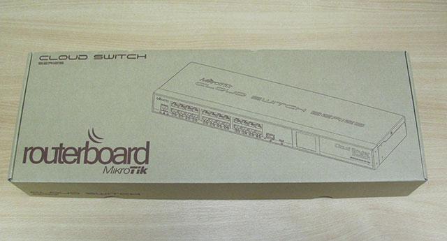 Упаковка MikroTik CRS125-24G-1S-RM