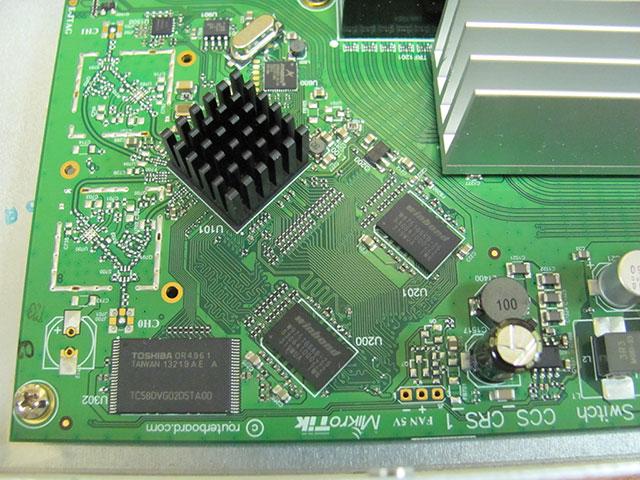 Плата MikroTik CRS125-24G-1S-RM