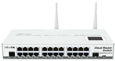 Управляемый коммутатор с Wi-Fi MikroTik CRS125 24G-1S-2HnD-IN