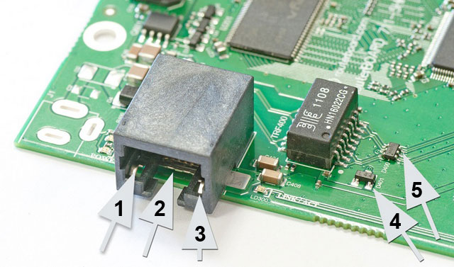 Электростатическая защита на плате RouterBOARD