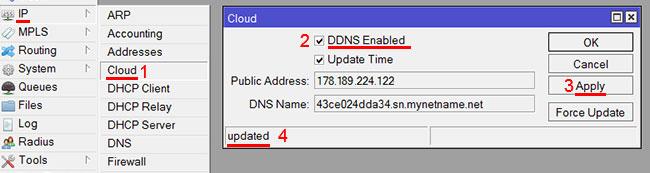 Проверка белого IP-адреса в роутере MikroTik