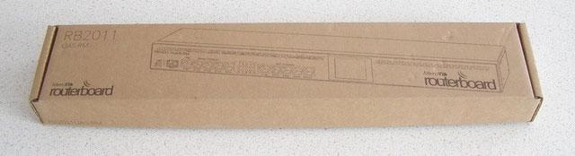 Коробка Mikrotik RB2011UAS-RM
