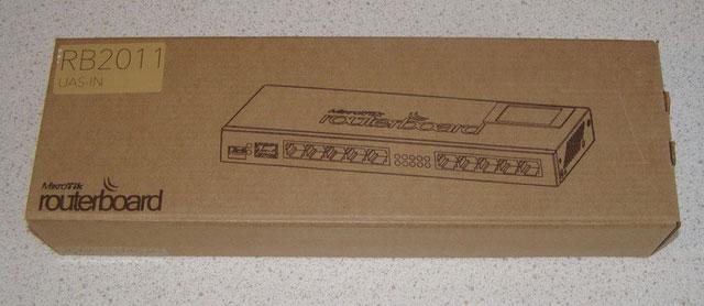 Упаковка MikroTik RB2011UAS-IN