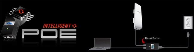 Схема работы PoE адаптера от nano stationm2