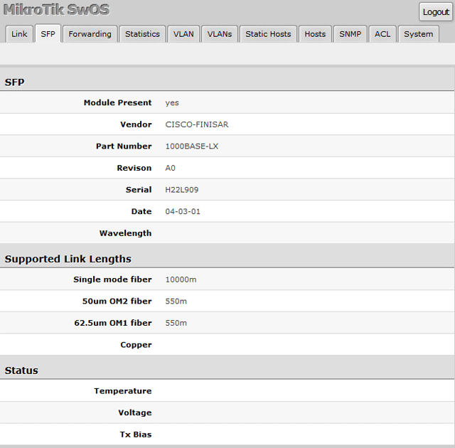 Подключение JetAge к MikroTik RB260GS