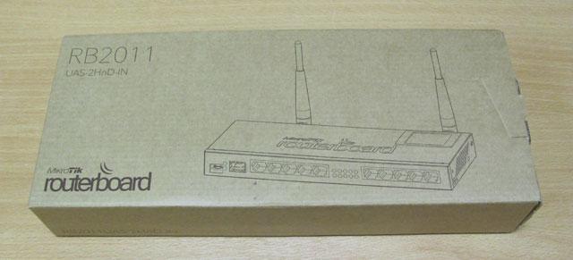 Коробка Mikrotik RB2011UAS-2HnD-IN