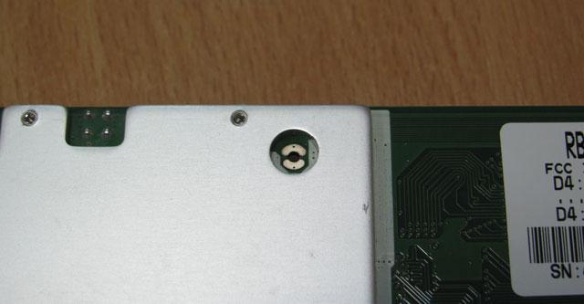 Кружок для сброса MikroTik к заводским настройкам
