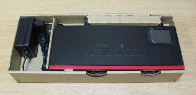 Упаковка Mikrotik RB2011UAS-2HnD-IN